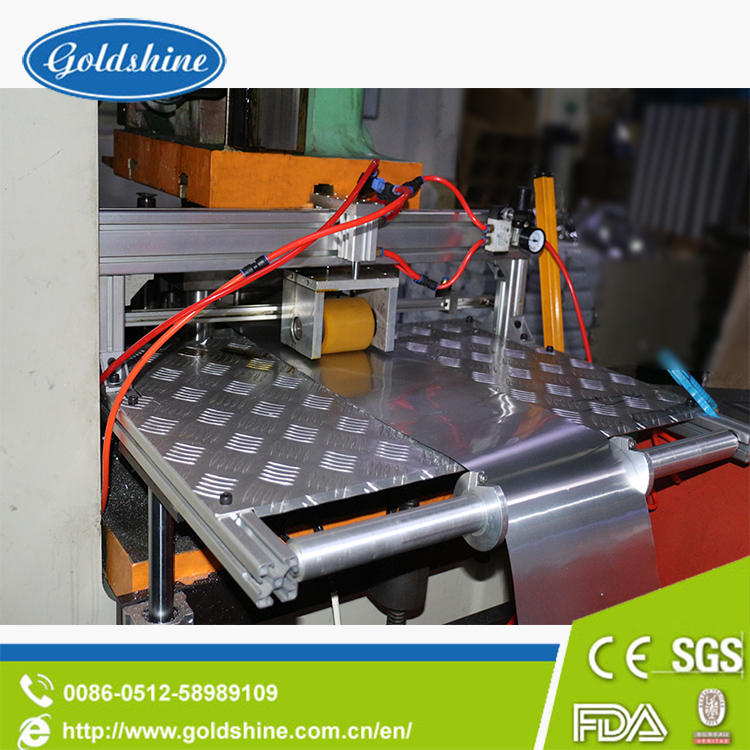 High Accuracy Aluminium Foil Container Making Machine