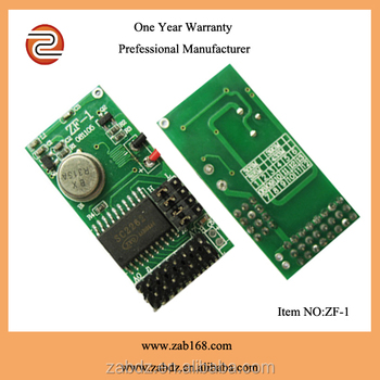 RF wirelesss 315/433.92 MHZ fixed code IC SC2262 wireless transmitter module (ZF-1)