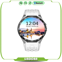 KW88 3G Wifi Smart watch for IOS and Andriod Mobile Phone with bluetooth hand watch mobile phone bluetooth