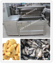 Carrot washing machine dates washing equipments brush washing and peeling machine