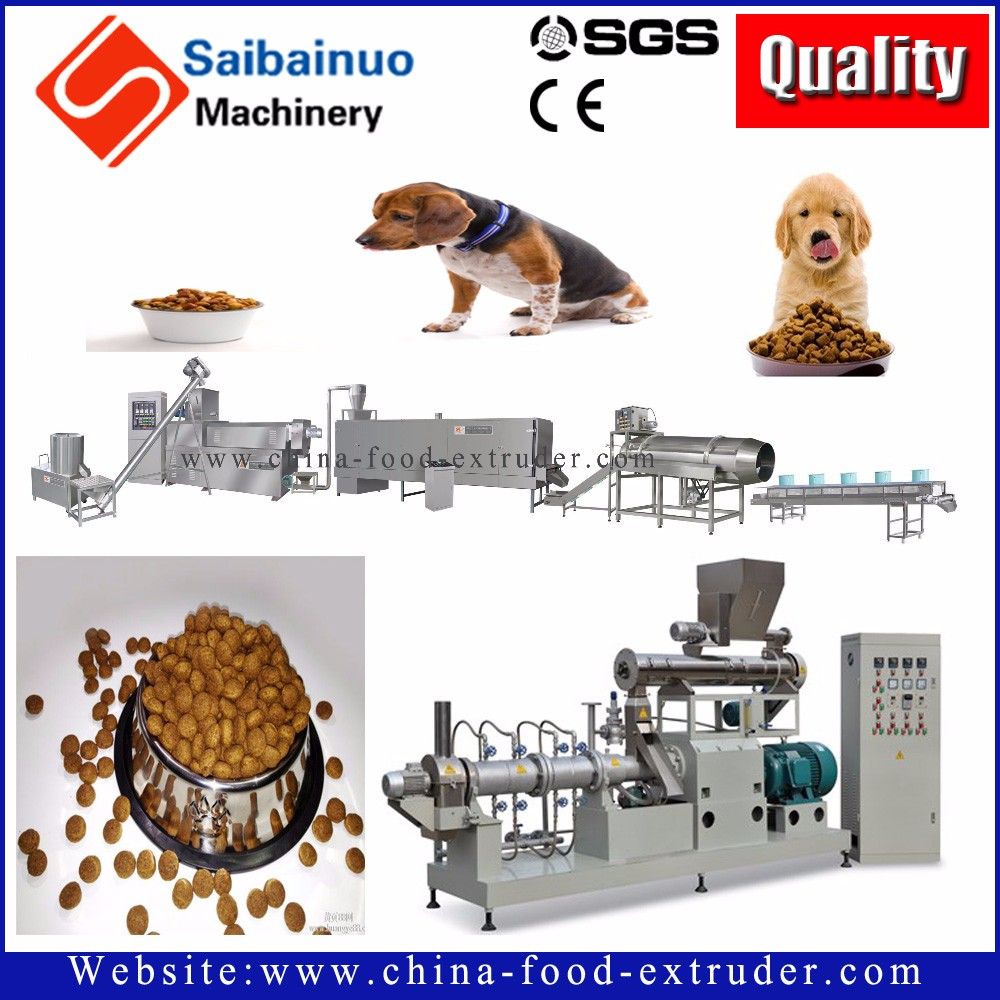 Automatically and easy operate pet food processing equipment