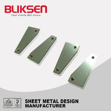 Industrial metal laser light cutting parts
