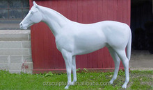 High quality outdoor fiberglass resin horse statue for garden decoration