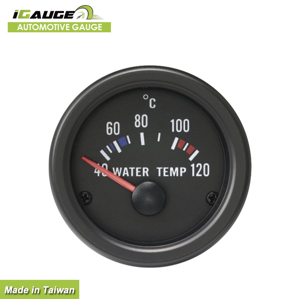 Auto Accessory Water temp Temperature Meter gauge 12 volt motor