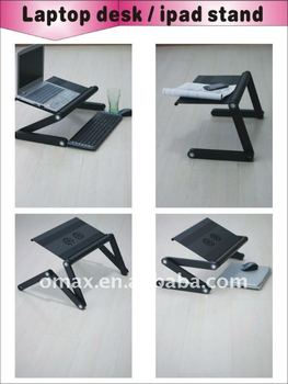 Creative design Foshan hot sale aluminum computer folding desk profile trading companies
