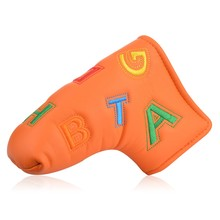 Best selling putter cover PU Leather custom golf putter cover