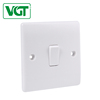 High quality products wall light 1 gang switch power supply