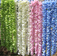 Factory artificial Orchid flower for wedding decor
