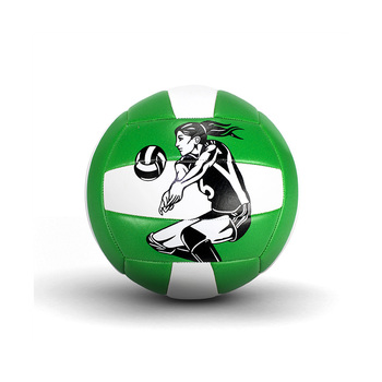 High quality logo customized PVC Volleyball in size 5