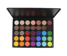Professional Makeup Custom 35 Color Private Label Eyeshadow Makeup Palette