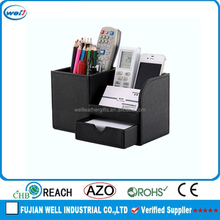 High quality office desk leather stationery set wholesale