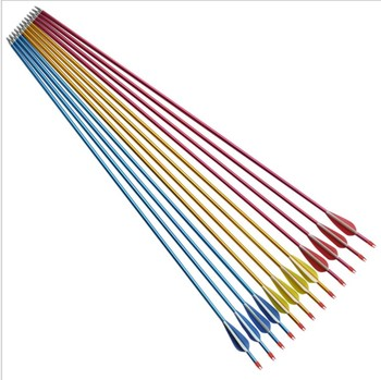 aluminum shafting arrows SP480 for compound bow hunting