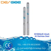 DEGEE 4 inch Best Submersible Pump Price deep well electric submersible pump B100QJD