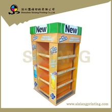 Advertising Cardboard Produce Merchandising Display