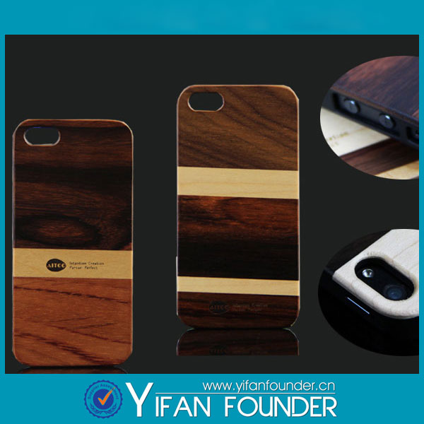For apple iphone 5s natural wood phone case cell phone accessory
