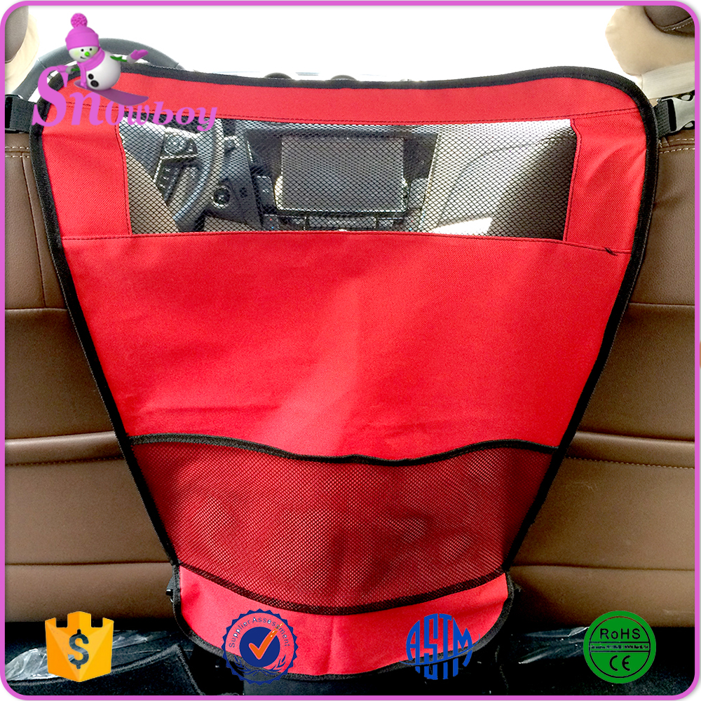 Auto Backseat Pet Barrier Waterproof Oxford Foldable Dog Car Safety Barrier Net