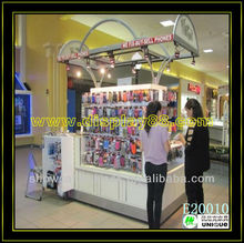 MDF popular mobile phone accessories, phone case display kiosk
