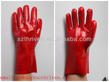 oil resistant chemical pvc gloves
