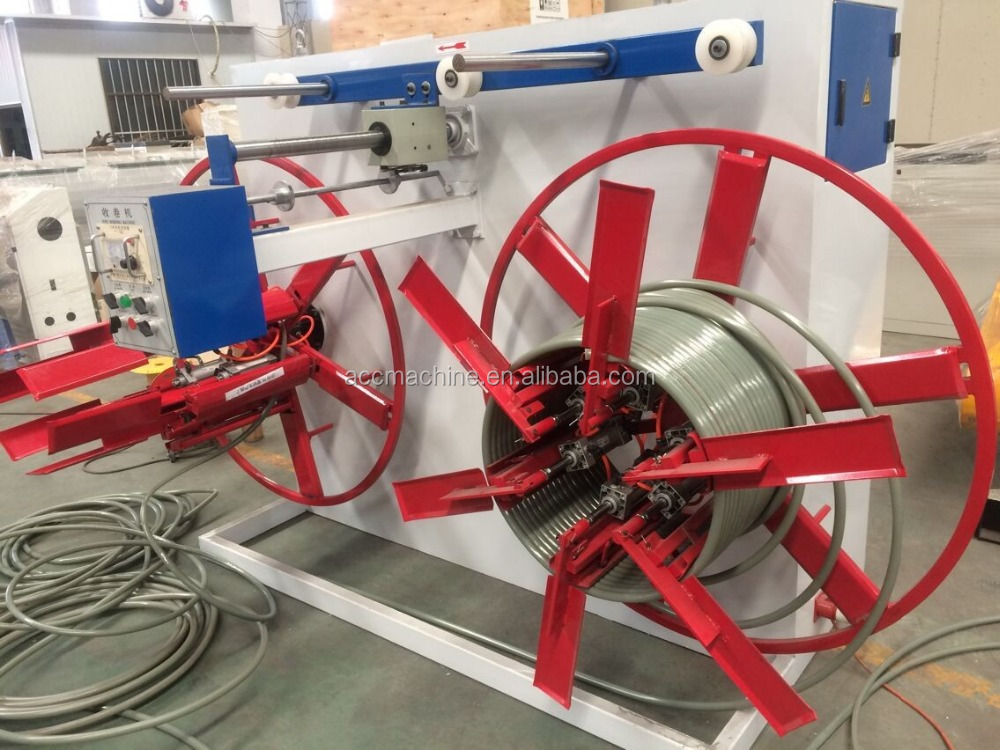 Double Disk PE PPR Pipe Winder/Coiler