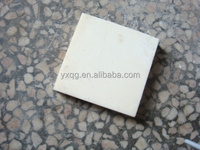 White 3Y-Zirconia Industrial Ceramic plate/ chip