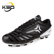 Simple Color Football Boots Wholesale Soccer Shoes Soft Rubber Soles For Shoes