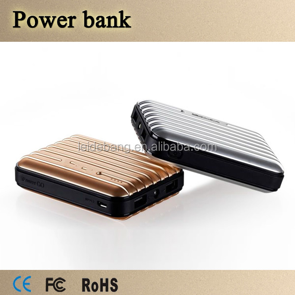 Latest 12000mAh Universal Portable Power Bank 18650 USB Charger External Battery Pack for Blackberry, for Samsung ect