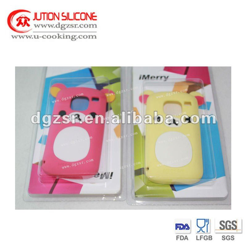 Custom cell phone silicone gel skin case