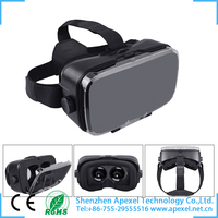 Virtual Reality Box,3D VR Glasses,VR Headset for iPhone Samsung Windows Smartphone VR Cardboard