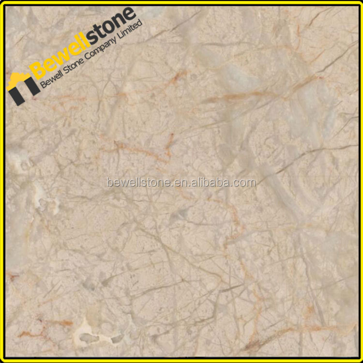 The most competitive price beige marble Iran golden leaf beige marble