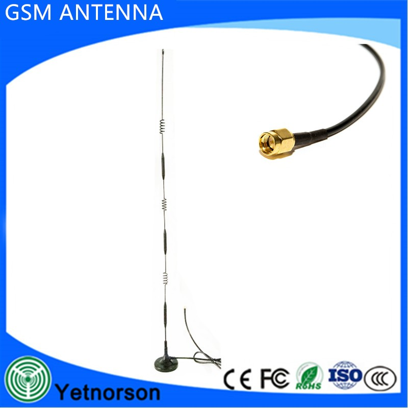 4G 3G GSM antenna 6dbi 5dbi high gain magnetic base with 3meters cable TS9/ CRC9/ SMA connector for HUAWEI modem