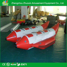good sealing 6 8 10 12 14 double water inflatable banana boat