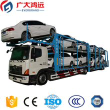 China best CE ISO central axles transport trailer car carrier semi truck trailer for sale