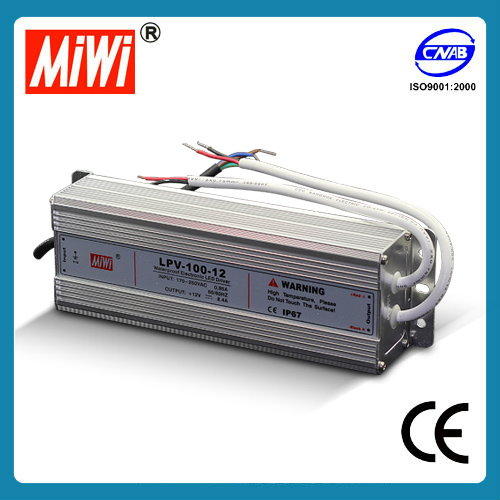 LPV-100 12v 24v Waterproof LED Series Switching Power Supply
