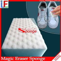High quality melamine sponge for shoes cleaning new effective sneaker eraser
