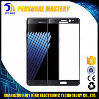 2016 Hot Sale Product For Samsung Galaxy Note 7 N9300 3D Full Cover Screen Protector 9H Tempered Glass