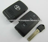Toyota Crown Smart Key Shell 3Button (with the key blade) Hotsale