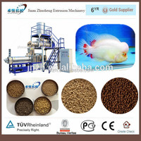 Aquarium fish formula feed machine/floating fish feed plant/fish food process line