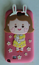 lovely mobile silicone phone case