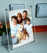 Acrylic photo frame transparent A4 plexiglass frames swing sets