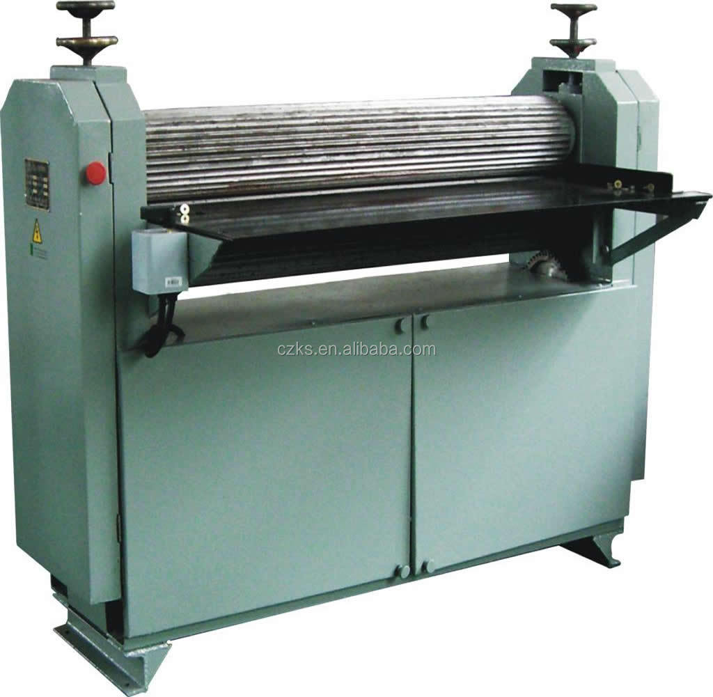 corrugated roller for single facer machine and corrugated machine