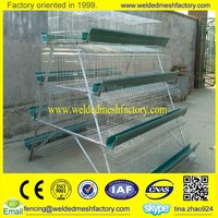 Galvanized poulty layer cage for broiler chicken/egg chicken