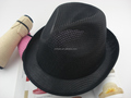 Direct Factory Price durable high quality polyester fedora hat