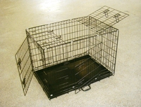 China Manufacturer Newest Folding Metal Dog Cage