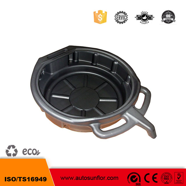 Plastic oil change pan Oil drain pan oil change pan