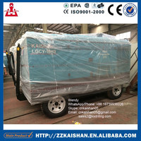 KAISHAN Screw Type Portable Diesel Air Compressor For Sale With Competitive Price