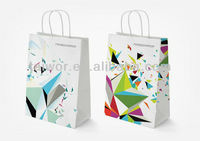 Paper wine bags with your logo available