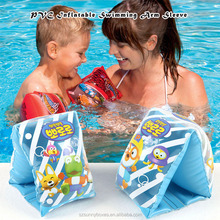 2017 outdoor sports Kids Colorful Air Inflatable Buoyancy Swimming Ring Floatage Arm Sleeve