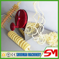 Top sale high quality durable use spiral potato slicer
