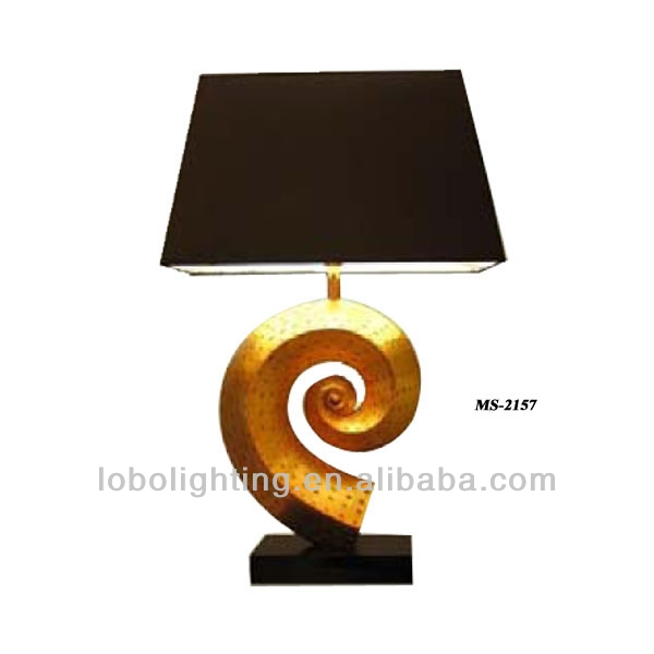 hotel lighting turquoise table lamp writing table lamp