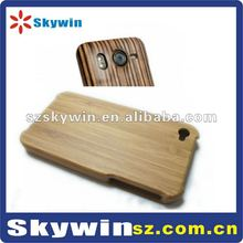 Real Natural Handmade-Carved Wood Bamboo Wooden Case Cover for iPhone 4 4G 4S